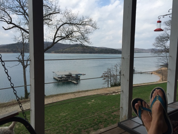 Beaver Lake, AR. Not a bad spot to spend a few months.